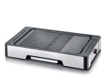 Severin Bordgrill 2300 watt Stål/sort