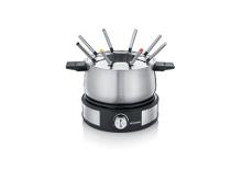 Severin Fondue 8 pers. 1500 watt Sort/Stål