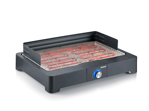 Severin Elbordgrill 2200 watt Sort