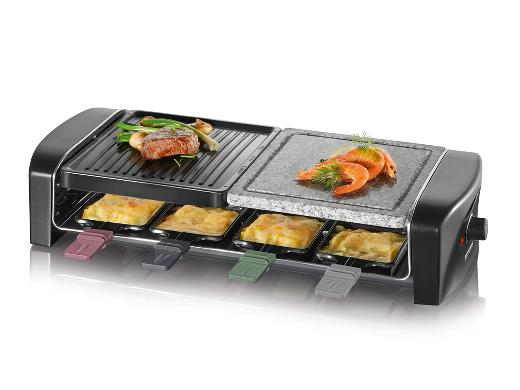 Severin Raclette 1400 watt Sort