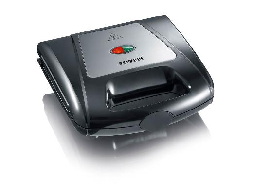 Severin Multi Sandwichtoaster 1000 watt Sort