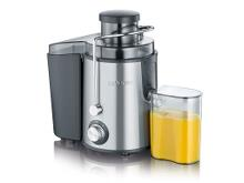 Severin Juicer 500 ml 400 watt Stål/sort